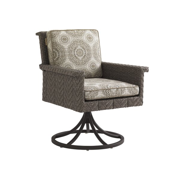 Olive Swivel Rocker Patio Chair with Sunbrella Cushion by Tommy Bahama Outdoor Tommy Bahama Outdoor