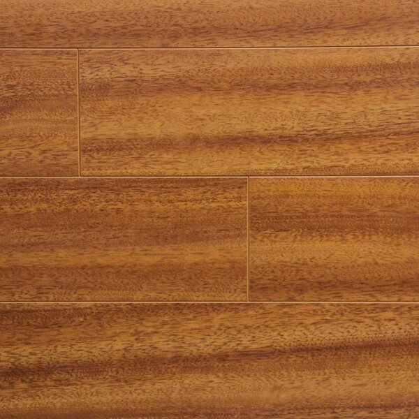 5 x 48 x 12.3mm Laminate Flooring in Jatoba (Set of 22) by Serradon