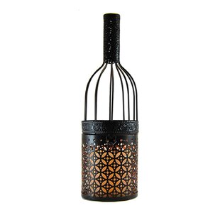 Buy luxury Wine Bottle Metal Lantern By LumaBase