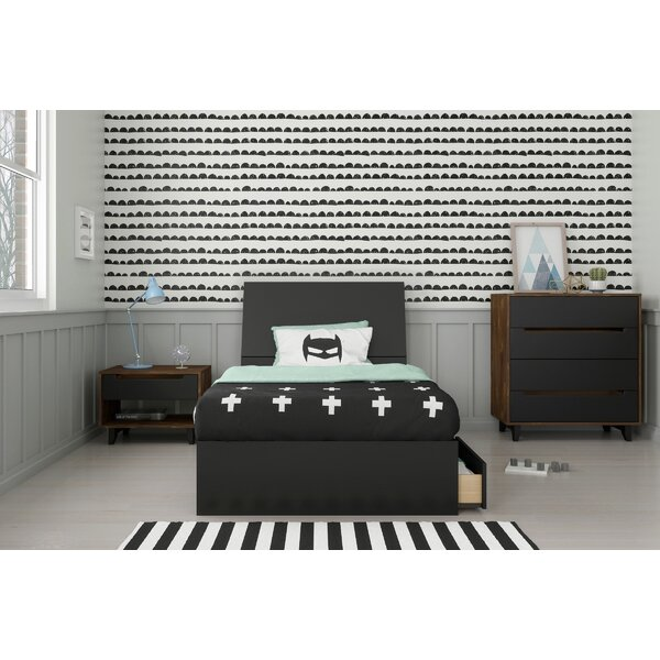 Lilburn Twin Platform 3 Piece Bedroom Set by Ebern Designs