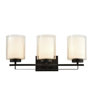 Reviews Alsip 3-Light Vanity Light By Winston Porter