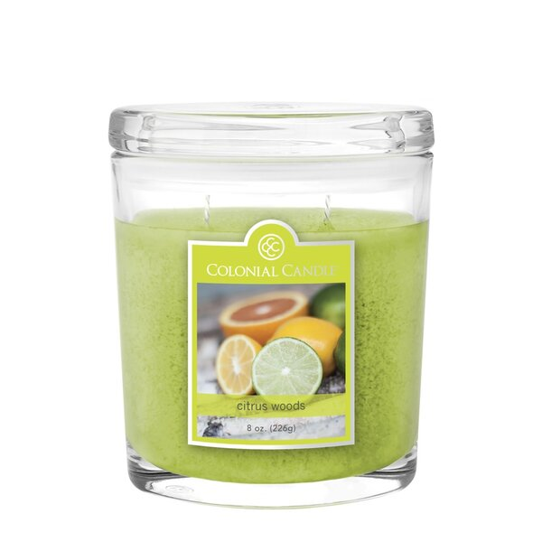 Citrus Woods 8 oz. Jar Candle by Colonial Candle