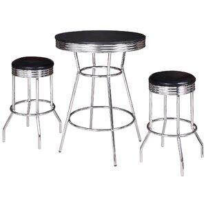 Anissa 3 Piece Pub Table Set by Zipcode Design