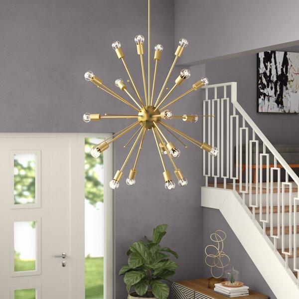Meredith 20-Light Sputnik Chandelier by Langley Street