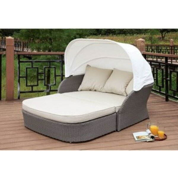 Shen Patio Daybed with Cushions by Ivy Bronx