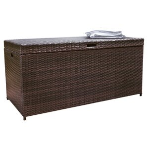Awesome Belton Wicker/Rattan Deck Box