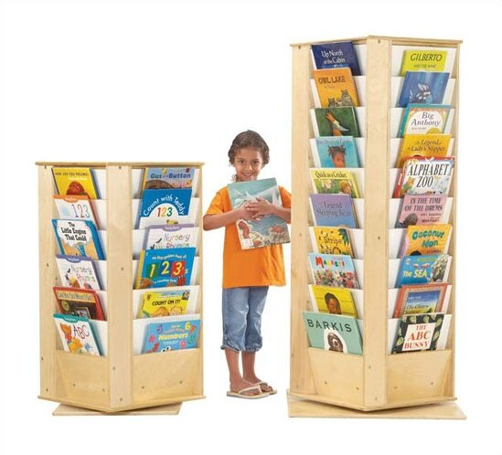 KYDZ Double Sided 32 Compartment Book Display by Jonti-Craft
