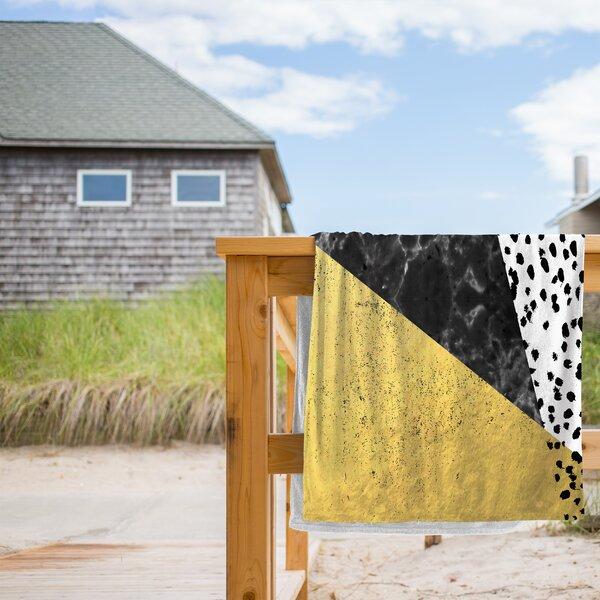 Mele Beach Towel by East Urban Home