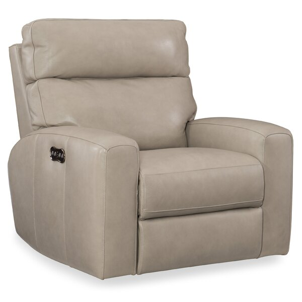 Mowry Motion Leather Power Recliner by Hooker Furniture