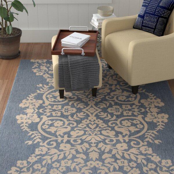 Joliet Tapestry Azurite Area Rug by Winston Porter