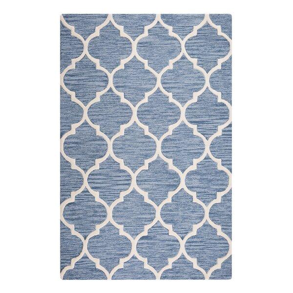 Yalova Hand-Tufted Light Blue Area Rug by Home Loft Concepts