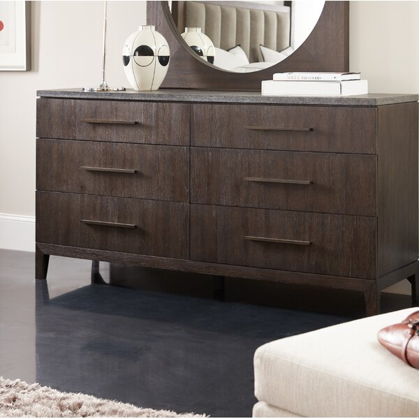 New Miramar Aventura Raphael 6 Drawer Double Dresser By Hooker Furniture Great Reviews