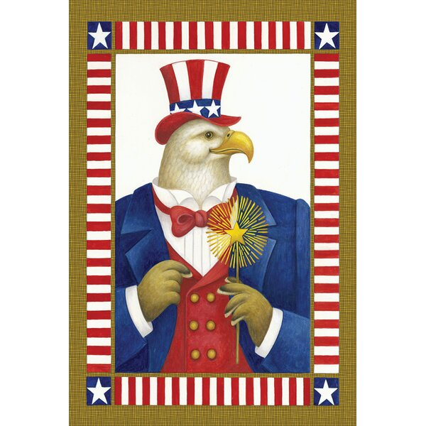 Uncle Eagle Sam 2-Sided Garden flag by Toland Home Garden