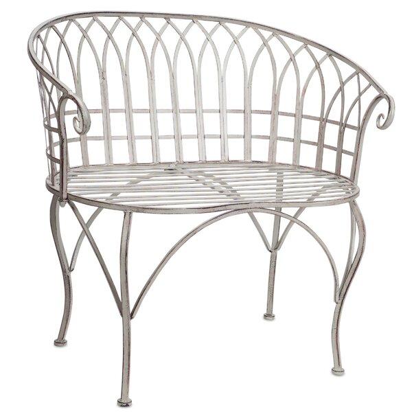 Trumbauer Aluminium Garden Bench by Ophelia & Co.