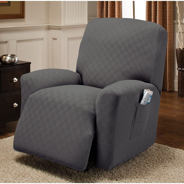 Box Cushion Recliner Slipcover by Andover Mills