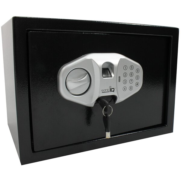 Solid Steel Safe Box with Biometric Lock by Meridian PointSolid Steel Safe Box with Biometric Lock by Meridian Point