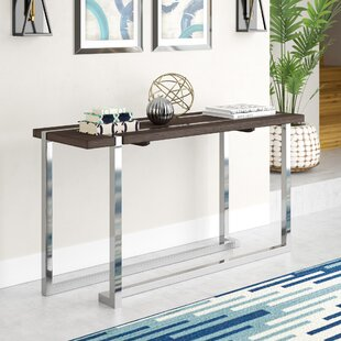 Affordable Aubuchon Rectangle Console Table ByWade Logan