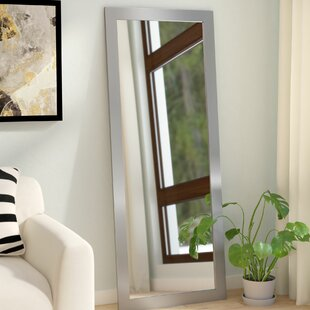 Price Check Industrial Rectangle Wall Mirror ByWade Logan