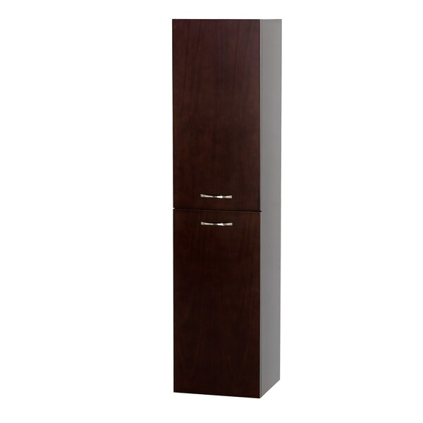 Accara 13.5 W x 56 H Wall Mounted Cabinet by Wyndham Collection