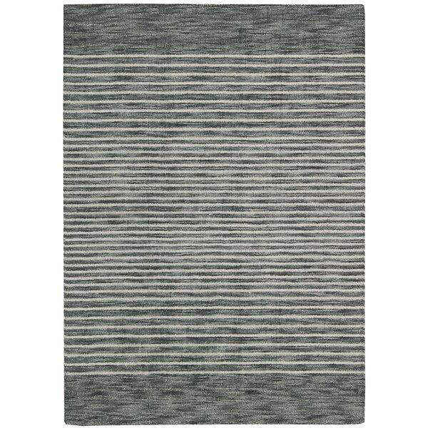 Tundra Hand-Woven Gray Area Rug by Calvin Klein