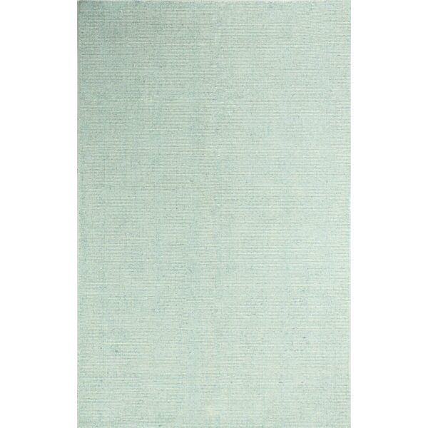 Severo Hand Woven Aqua Area Rug by Gracie Oaks