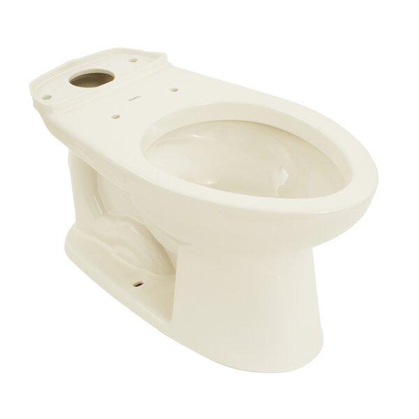 Drake Eco 1.28 GPF Elongated Toilet Bowl by Toto