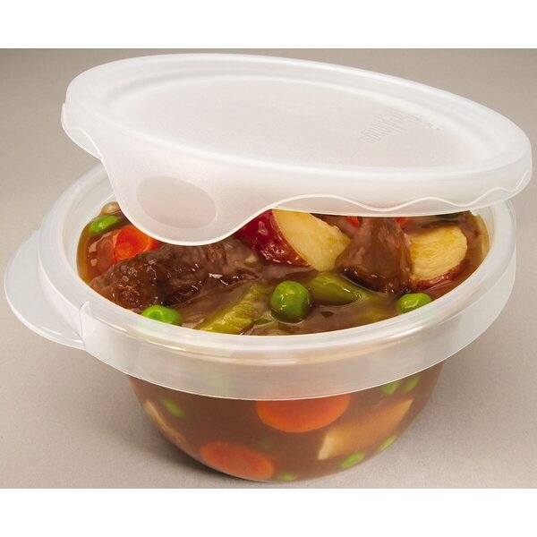 Round 4 Container Food Storage Set by Rubbermaid