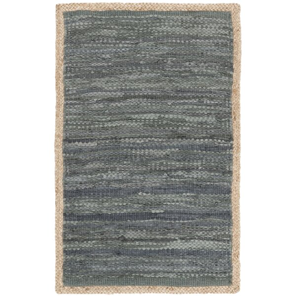 Church Hand-Woven Gray Area Rug by Highland Dunes