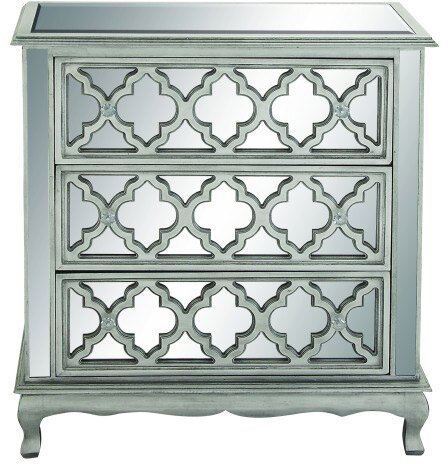 Alexandra Mirrored Chest By Cole & Grey