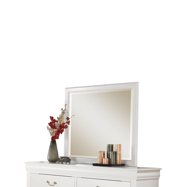Rectangular Frame Dresser Mirror by Alcott Hill