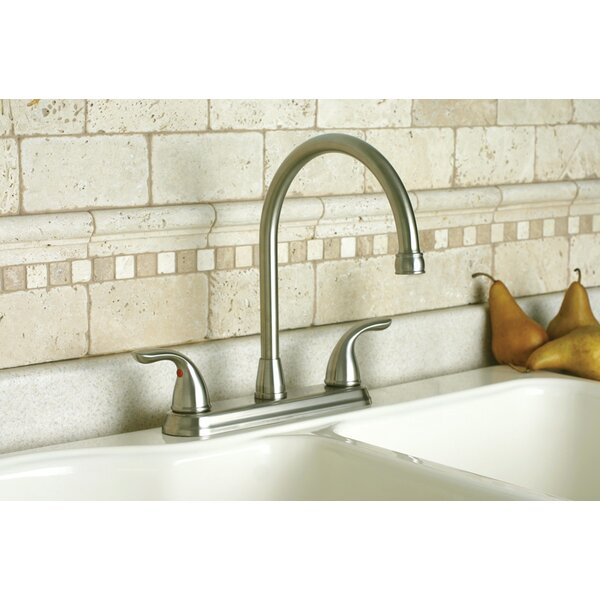 Bayview Double Handle Kitchen Faucet by Premier Faucet