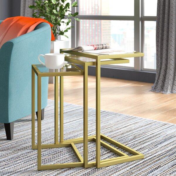 Review Kilburn 3 Piece Nesting Table (Set Of 3)