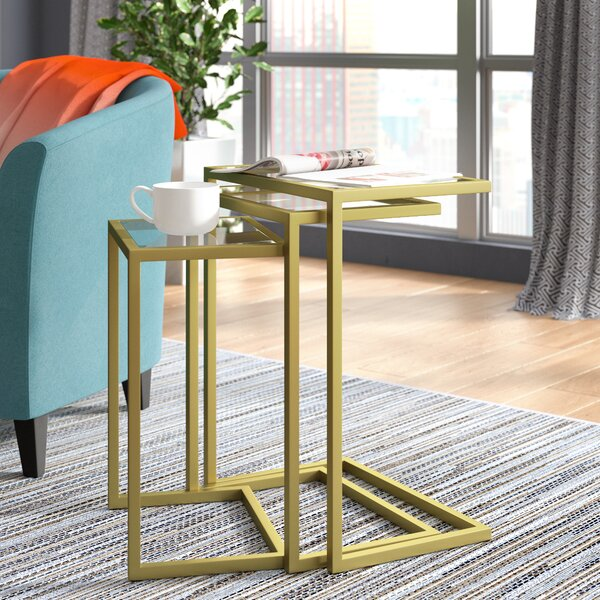 Up To 70% Off Kilburn 3 Piece Nesting Table (Set Of 3)