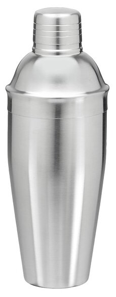 Jefferson 22 Oz. Brushed Stainless Steel Cocktail Shaker by Corrigan Studio