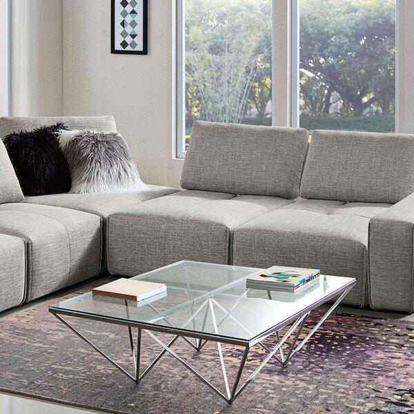 Diamond Sofa Glass Top Coffee Tables