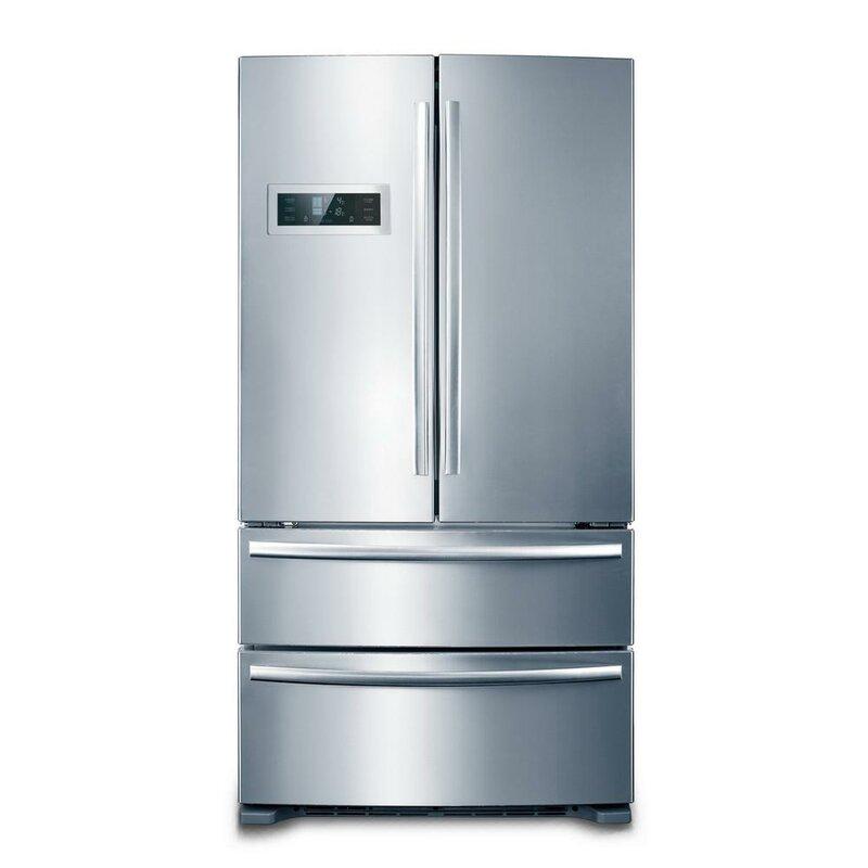 Charming Counter Depth 4 Door Counter Depth French Door Refrigerator