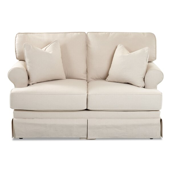 Valuable Price Veda Loveseat by Alcott Hill by Alcott Hill