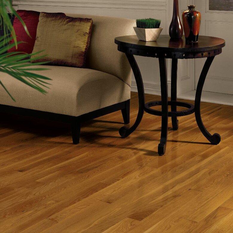 Dundee 3 14 Solid Red White Oak Hardwood Flooring in Gunstock