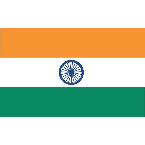 India World Nylon 3 x 5 ft. Flag by U.S. Flag Store