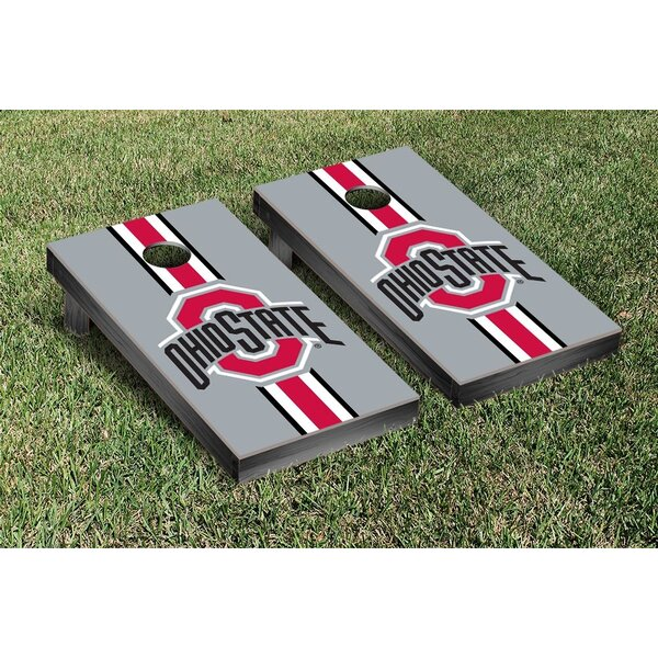 Ohio State OSU Buckeyes Stripe Version Cornhole Game Set by Victory Tailgate