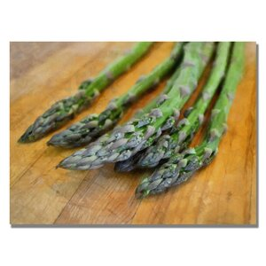 'Asparagus' by Michelle Calkins Photographic Print on Canvas by Trademark Fine Art