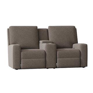 Alliser Console Reclining Loveseat by Wayfair Custom Upholstery๏ฟฝ SKU:CB205139 Information