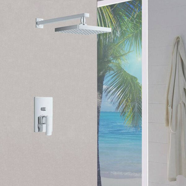 Contemporary/Modern Diverter Volume Control Shower Faucet with Valve by Sumerain International Group