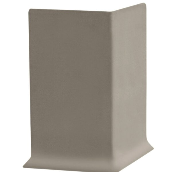 2.25 x 4 x 2.25 Cove Molding in Pewter (Set of 25) by ROPPE