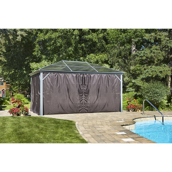 Curtains for All Seasons Marseille Gazebo (Set of 4) by Gazebo Penguin