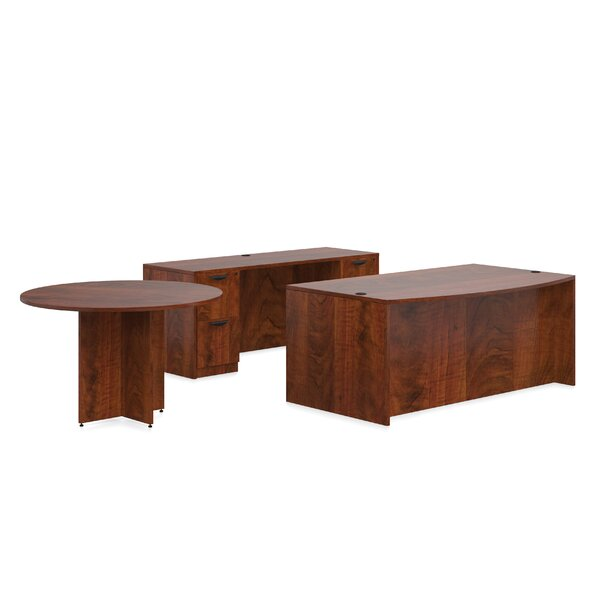 Superior Laminate 7 Piece Desk Office Suite by Offices To Go
