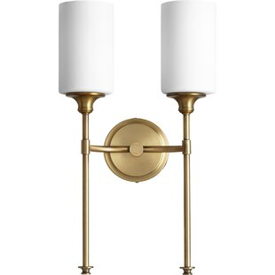 Compare prices Dian 2-Light Wall Sconce By Willa Arlo Interiors
