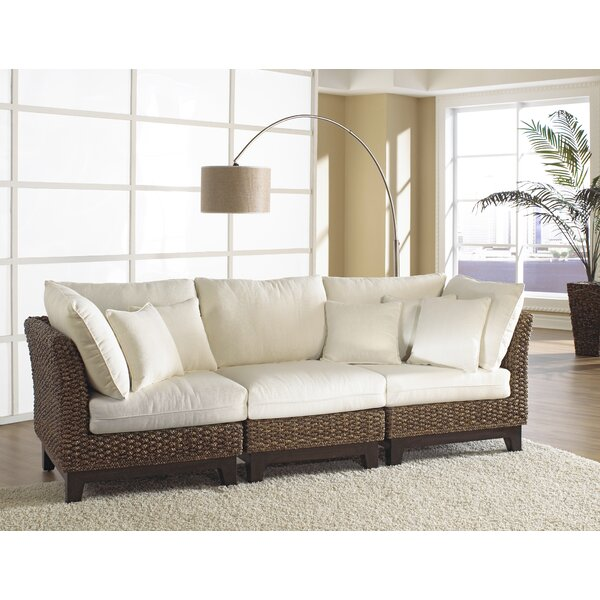 Weekend Choice Sanibel Modular Sofa by Panama Jack Sunroom by Panama Jack Sunroom