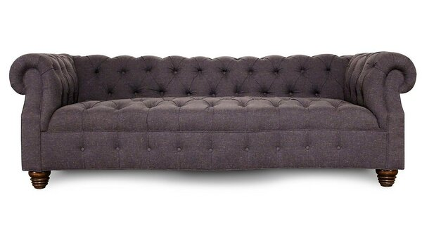 Serpentine Chesterfield Sofa by Jaxon Home