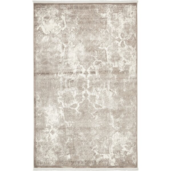 Jacobson Gray Area Rug by World Menagerie